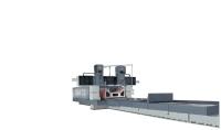 super twin-head precision double column slideway &surface grinder