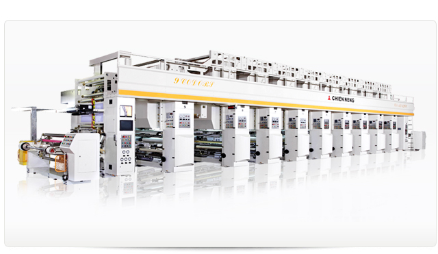 MICRO COMPUTERIZED ROTOGRAVURE 9-COLOR HIGH SPEED PRINTING MACHINE