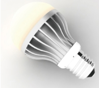 8W TRIAC Dimmable LED Light Bulb