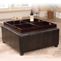 Coffee Table with Four Tray