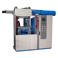 Servo-controlled rubber injection molder