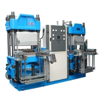 Vacuum-type rubber hot-press former