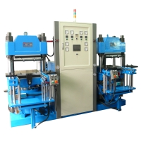 Rubber hot-press forming & vulcanizing machine