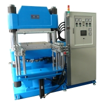 Single-spindle rubber hot-press former
