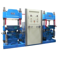 Automated hydraulic metal-shaping press