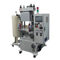 Small vacuum-type hot-press former