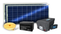 Solar power kit