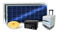 Solar power package