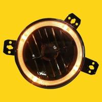5 high-beam headlamp w/halo (smoke)
