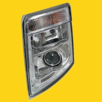 左驾驶电动头灯 &手动头灯
