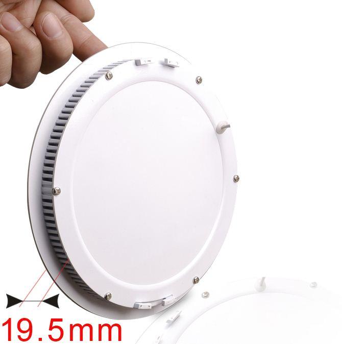 14 Watt Flush-mount LED Ceiling Lights, Ultra-thin