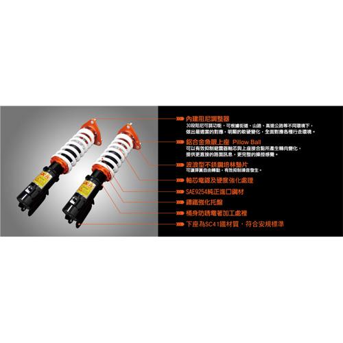 SUSPENSION KIT - A-arm suspension