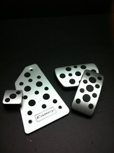 TOYOTA Camry 2012 - up pedal pad Aluminum gas brak