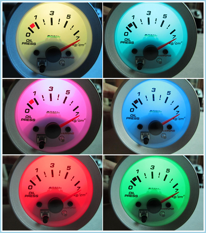 7 Color - Water Temperature Meter 52ψ