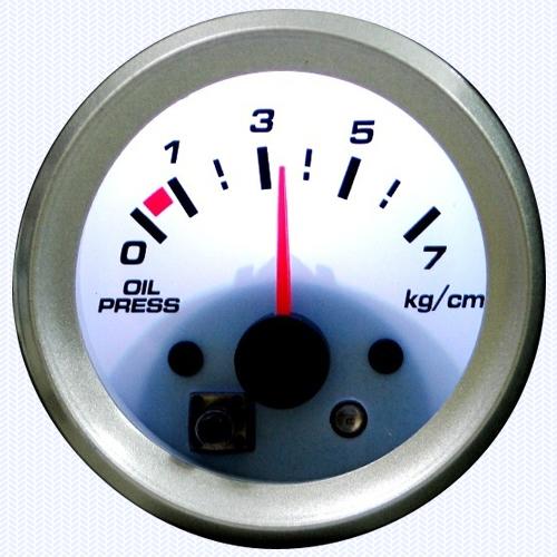 7 Color - Oil Pressure Meter 52ψ