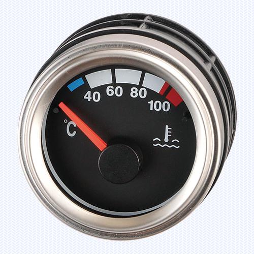 Luxury Silver - Water Temperature Meter 52ψ