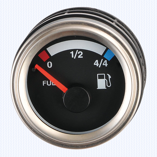 Luxury Silver - Fuel Level Meter V Type 52ψ
