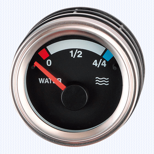 Luxury Silver - Water Level Meter V Type 52ψ