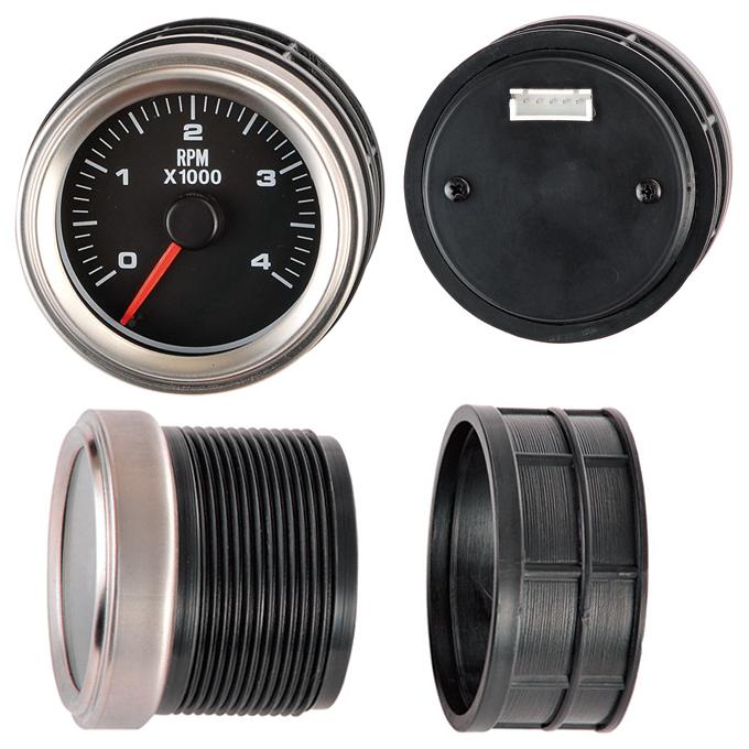 Luxury Silver - Diesel Tachometer 52ψ