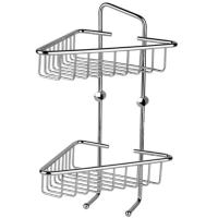 Two-tier Corner Rack