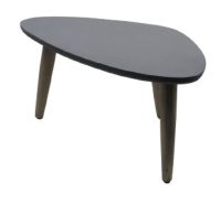 Imitation cement side table