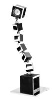 Blox Block Projector LED desk lamp