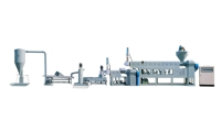 Two Stages Die Dehydrated Pelletizer Extrusion Machinery