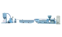 PVC Water Cooling Pelletizing Extrusion Line