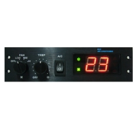 Bus Air Conditioning Temperature and Wind-Capacity Control System