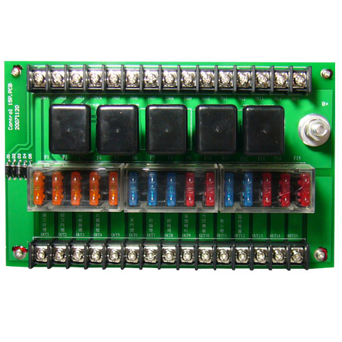 Bus Power Relay System