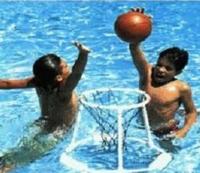 水上籃球組