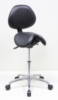 PATENT SADDLE CHAIR WITH BACK
