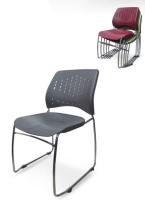 PLASTIC STACKABLE CHAIR