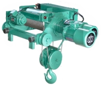 Double Rail Wire Rope Hoist ( Two Speed )