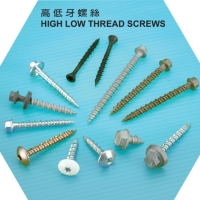 High Low Thread Screws