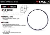KCRAFT 25 TUBULAR CARBON RIM