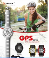 指針數位衛星定位防水運動手錶