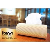Wooden Folding Tissue Box