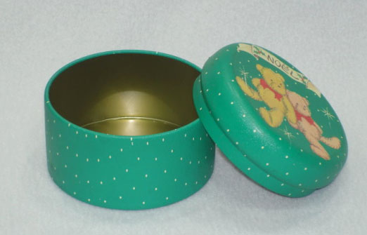 Christmas Tins (Green Bear)