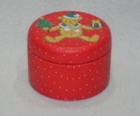 圣诞罐 (红色熊)