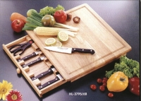 4-pc All-Stainless Cheese Knife Set