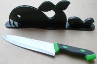 Houly Whale!Knife & Rack Set