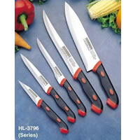 2-tone Kitchen Knife Set