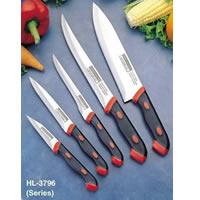 2-tone Kitchen Knife Set
