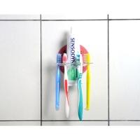Damage-free Hook-toothbrush holder