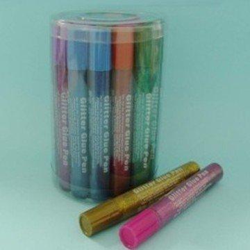 3D Glitter Glue Pens (55ml)