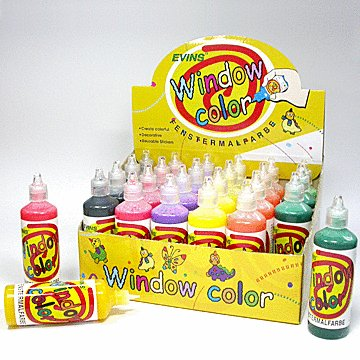 WINDOW COLOR EACH 80 ml (2.75 Oz)