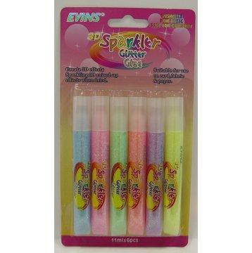 3D Sparkler Glitter Glue Pens ( 11ml )