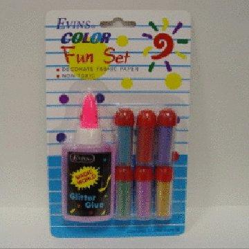 Color Sand & Glue Fun Set