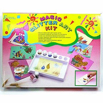 Magic Glitter Art Kit